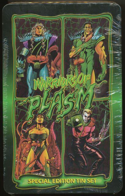 1993 Defiant River Group Plasm Lorca Embossed Foil Hologram 4 Chase Card Set