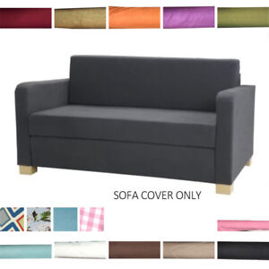Details about Custom Made For SOLSTA Replacement Cover Two seater Sofa Bed  Slipcover Decor VST
