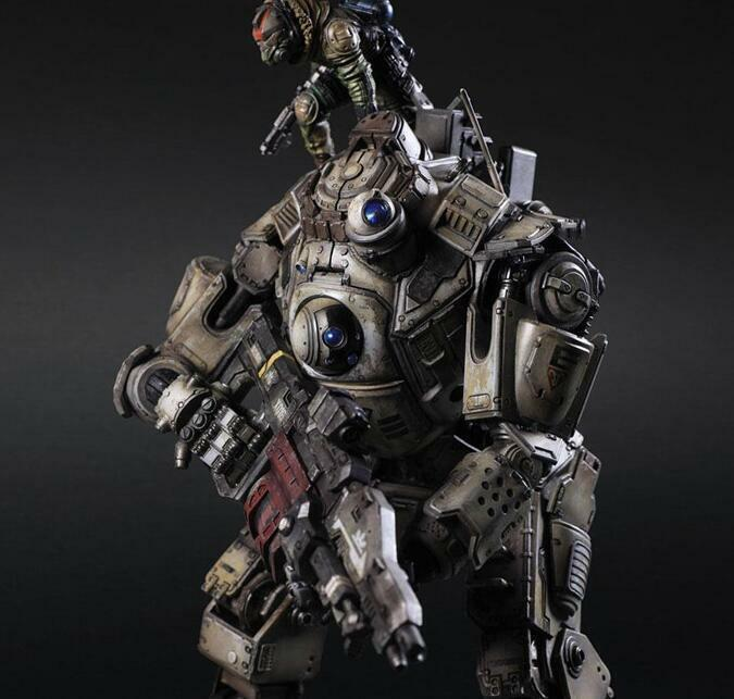 Play Arts Titanfall Atlas Pilot Battle Mech 26cm Action Figure Toy