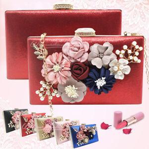 borsa da donna roya crossbody con i fiori