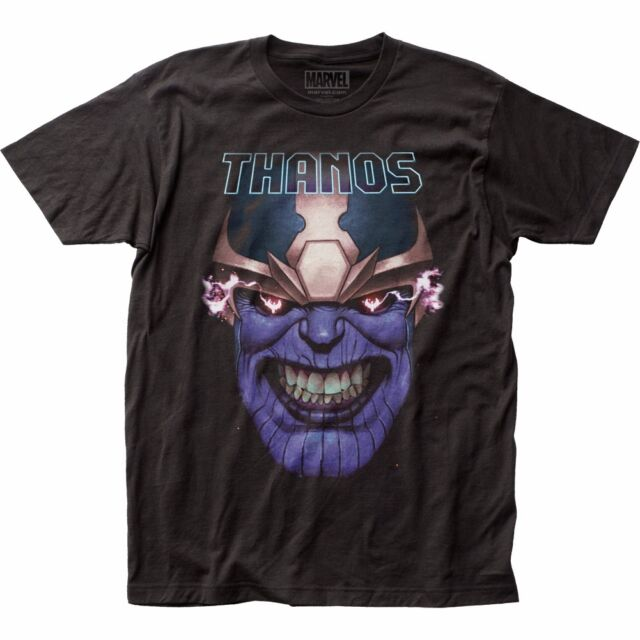 Thanos Teeth Clenched Marvel Comics Officially Licensed Adult T Shirt