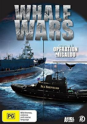 Whale Wars DVD - Sea Shepherd, Season 1, Jolly Roger, Whaling, Animal Planet