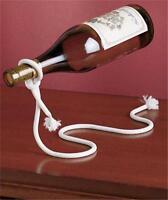Unique Wine Bottle Holder Optical Illusion Metal Lasso Rope - Great Gift Idea