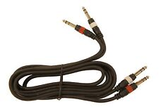 100ft 1//4 inch Stereo Extension Cable TRS Balanced 1//4in Male//Female 10A1-622HD