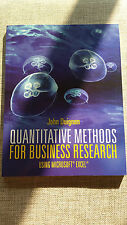 Quantitative Methods for Business Research   John Duignan   Cengage Learning NEW