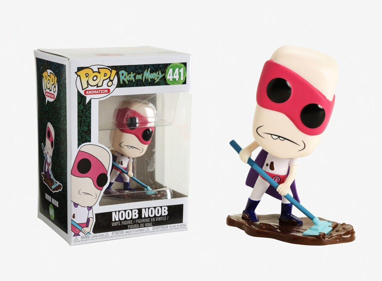 Funko Pop Animation Noob Noob Vinyl Figure Item #35593 Rick and Morty