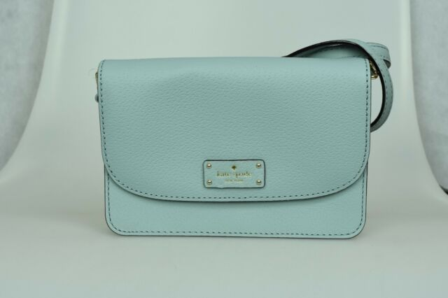 Kate Spade Grove Street Mikka Lakes Edge Crossbody Bag Wallet Wlru2983