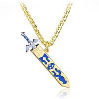 Zelda Necklace Stainless Steel The Legend Of Zelda Game Removable Sword Necklace
