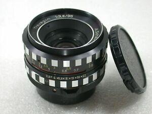 A-Schacht-Ulm-Edixa-Travegon-35mm-F3-5-Manual-Focus-Lens-M42-Fit-No-226570