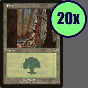 20x Invasion FOREST #348 Same Art Basic Land NM/LP/MP MTG Magic the Gathering