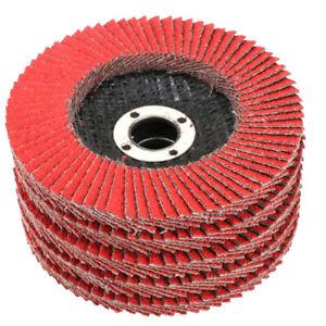 4-Inch-Flap-Sanding-Disc-Grinding-Wheel-for-Polishing-Metal-Wood-60-Grit-10Pcs
