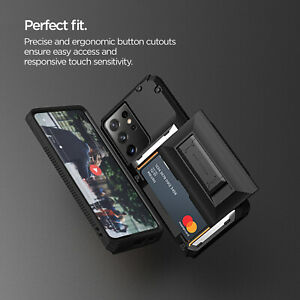 For Samsung Galaxy S21/ Plus/ Ultra Case VRS®[Damda Glide Pro] Card Wallet Cover