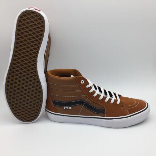 negro Vans Sk8 blanco Pro Zapatos hi Glaseado Hombre jengibre YqOIqr