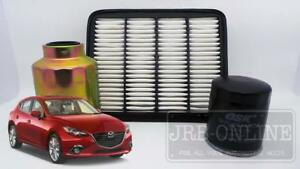 mazda 3 bm 2.2l skyactiv diesel turbo 02/14~on air oil fuel