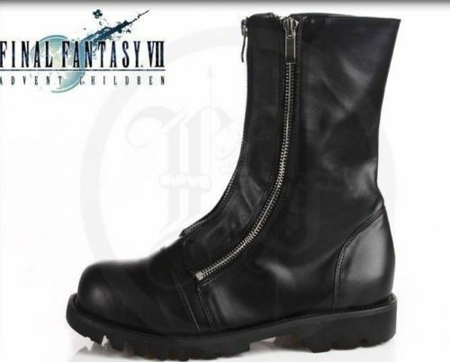 Anime Final Fantasy Cloud Strife Cosplay Boots Shoes !Free shipping  HH NEW