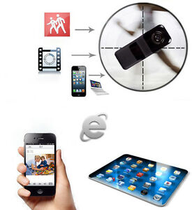 for android iphone pc mini wifi pp wireless spy surveillance camera remote cam ebay. Black Bedroom Furniture Sets. Home Design Ideas