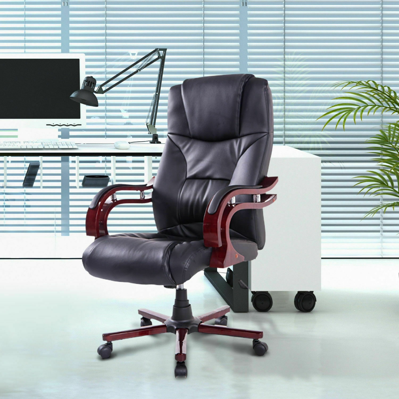 Bürosessel Drehstuhl Chefsessel Bürostuhl Stuhl Schreibtischstuhl Büro schwarz
