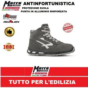 Chaussures Sᄄᆭcuritᄄᆭ U Haute Infinity Chaussure power Redlion S3 Upower n0OmNy8wv