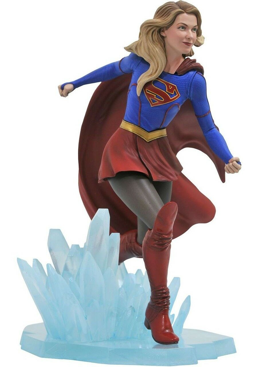 SUPERGIRL CW SERIE TV GALLERY PVC STATUA