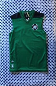Celtics Uomo Canotta Nero Nba Adidas Reversibile Verde Aj1888 qtIW6wISf