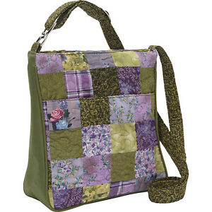 Donna Sharp Expanded Hipster Crossbody/Shou<wbr/>lder Bag in Grape Patch (SALE!)