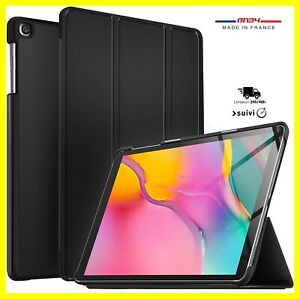 Coque Etui Housse Protection Noir Pour Samsung Galaxy Tab A 10.5 SM-T590/T595 FR