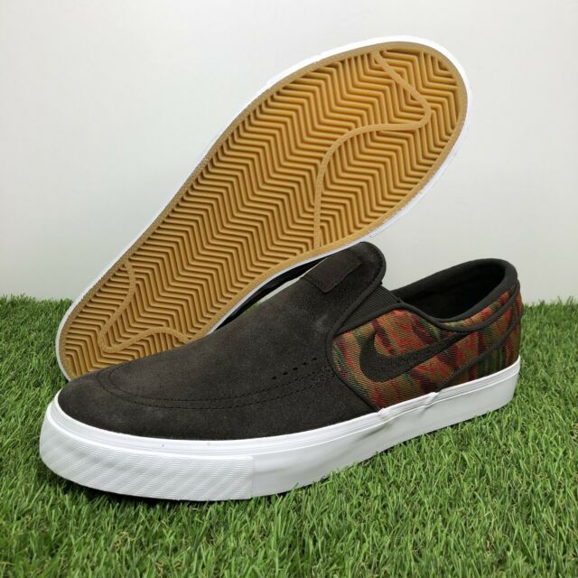 Aprendizaje Aliviar Sociable  Nike Zoom Stefan Janoski Slip Men Size 12 Canvas British Tan Brown 831749  200 for sale online | eBay