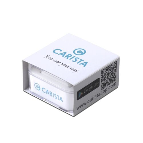 Scanner and App for iPhone//iPad and Android New Carista Bluetooth OBD2 Adapter
