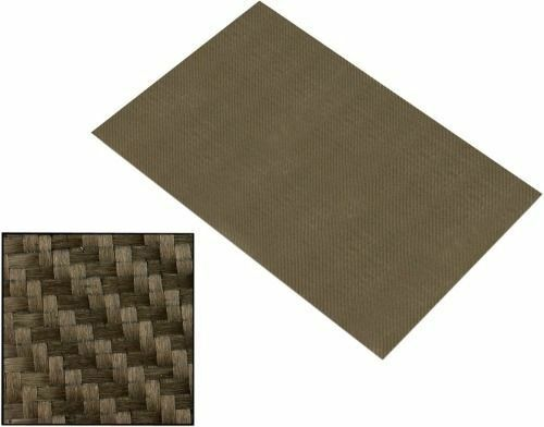Reinforced Adhesive Backed Lava Heat Shield Resistant High 1200 degree 0.3mx0.3m