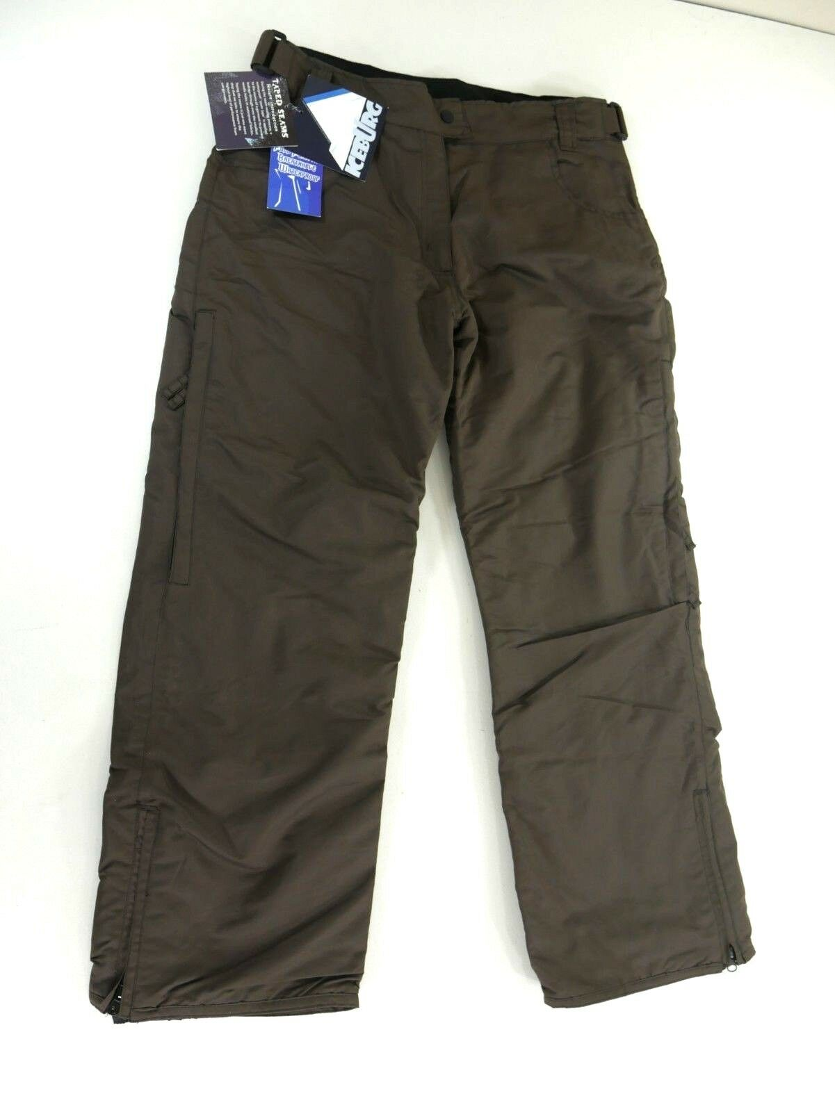 Iceburg Womens Brown Ski Snowboard Technical Pants Jean Trouser Style Size Large