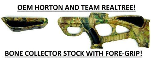 FORE GRIP CB315 TRT New Horton Crossbow Team Realtree BONE COLLECTOR STOCK