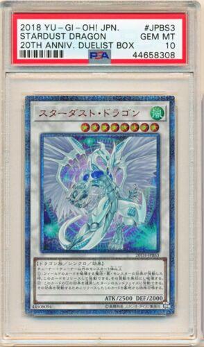 Stardust Dragon 20th Secret 20TH-JPBS3 Japanese Yugioh  PSA 10 GEM MINT
