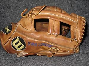 Wilson-A2000-EL3-Evan-Longoria-used-Pro-issue-game-glove-Tampa-Bay-Rays