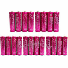 20 x AA 900mAh Ni-Cd NICD Ni-Cad 1.2V rechargeable battery RC/Cell Pink US Stock