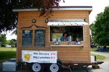 Solar Powered Food Concession Trailerused Mobile Kitchen Unit For Sale In Briti