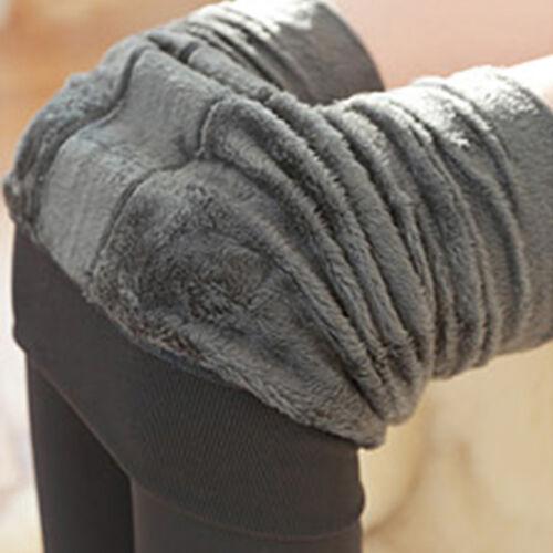 Damen  Leggings Warm Weich Blickdicht Winter Strumpfhose Leggins Hosen JO