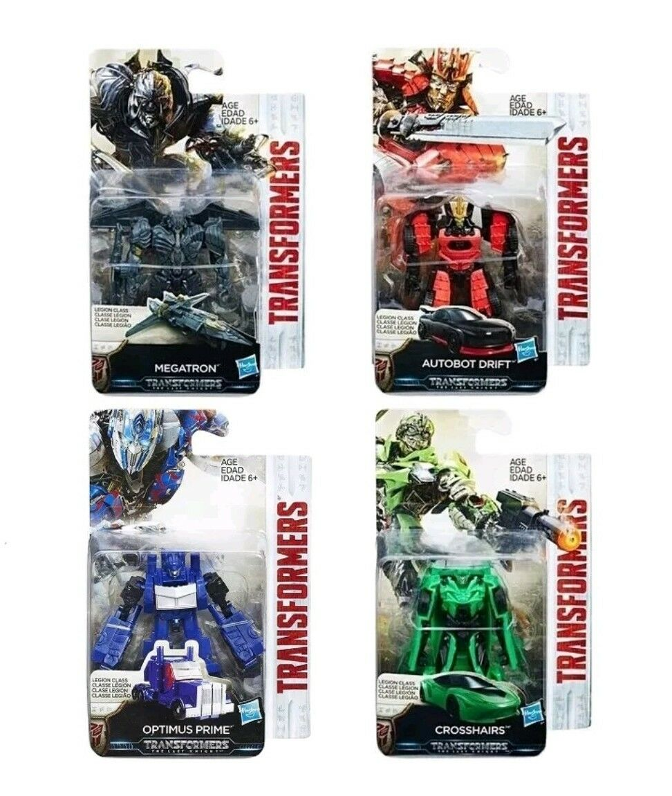 TRANSFORMERS TRANSFORMERS TRANSFORMERS THE LAST KNIGHT MV5 LEGION MEGATRON,CROSSHAIRS,OPTIMUS PRIME,DRIFT 32c4dc