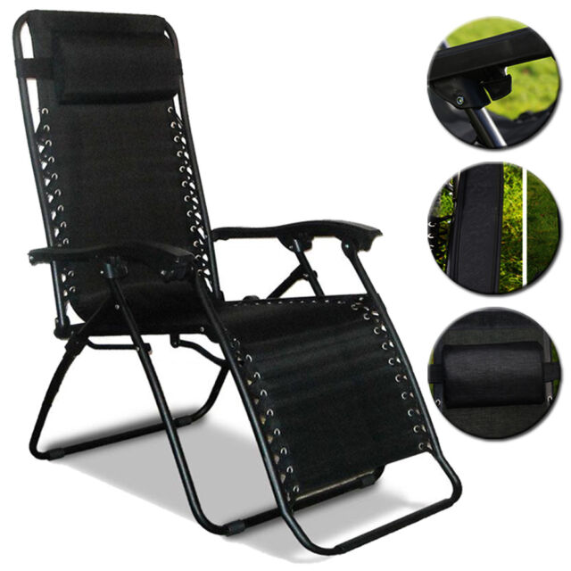 Terrific Textoline Reclining Folding Chair Sun Lounger Beach Bed Garden Recliner Camping Ocoug Best Dining Table And Chair Ideas Images Ocougorg