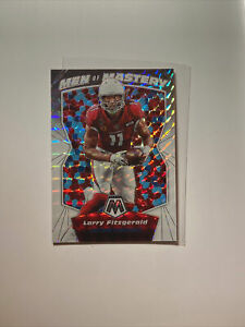 2020-Panini-Mosaic-Football-Larry-Fitzgerald-White-1-25-Men-of-Mastery-1-1-Nice