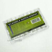 900pcs Watchmaker Glasses Watch Screws 18 Types Repair Parts