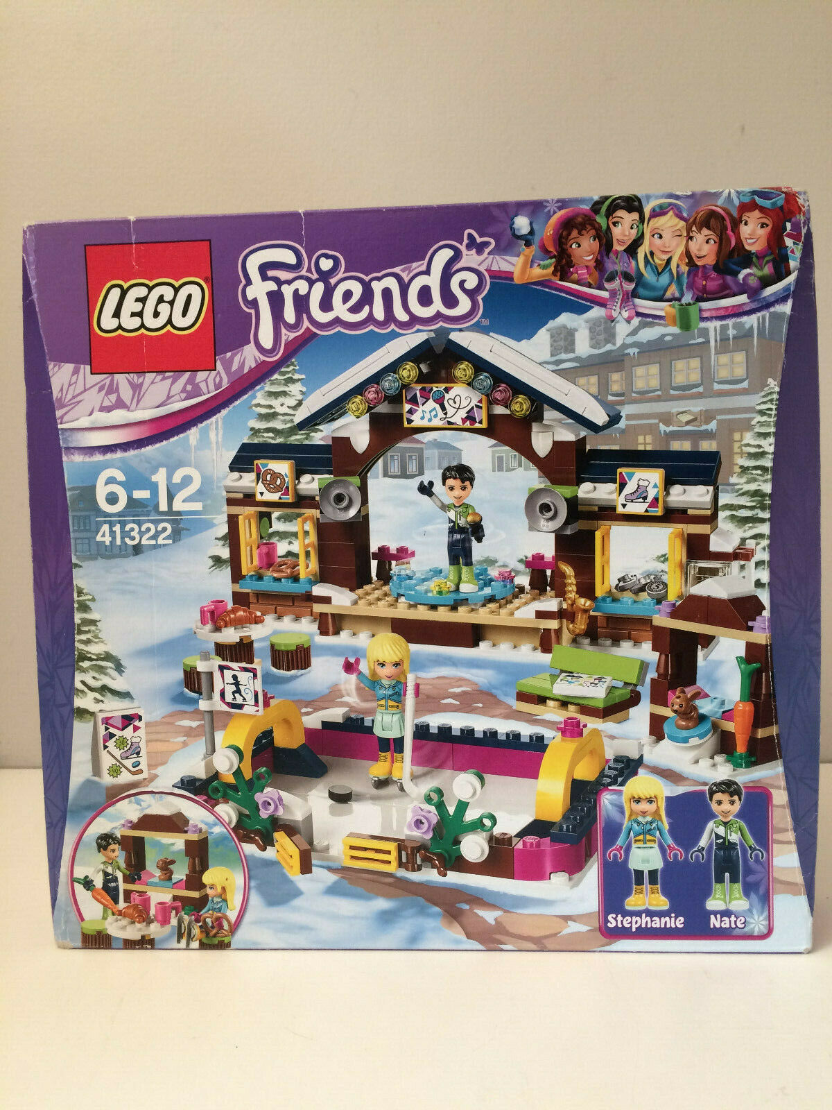 LEGO Snow Resort Ice Rink Construction Toy Brand NEW                 D3