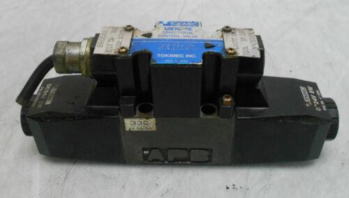 WARRANTY Vickers Tokimec Directional Control Valve DG4SM-3-33C-P7-H-PC1-50 Used