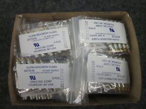 SAN-O-AX70-N-Alarm-Indicator-Fuses-10-amp-300-vdc-5-bags-of-5