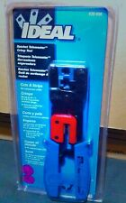 Ideal Ratchet Telemaster Crimp Tool 30 696 New Sealed Cuts And Strips