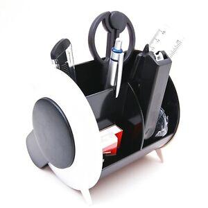Schreibtisch-Organizer-Set-Ordnungssystem-Ablagebox-Bueroausstattung-Stiftehalter
