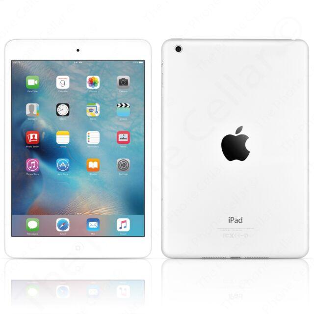 "Apple iPad Mini 1 7.9/"" 1st Gen White /& Silver 7.9in 64GB Wi-Fi"