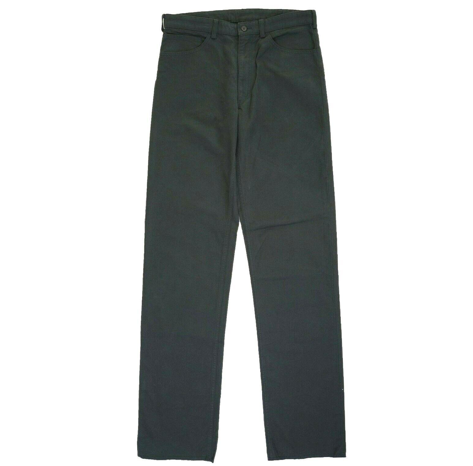 Issey Miyake mainline dark green trousers (000-906)