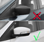2xABS-Chrome-Side-Mirror-Trim-For-Ford-Kuga-Escape-2013-2016-With-Turn-Light thumbnail 3