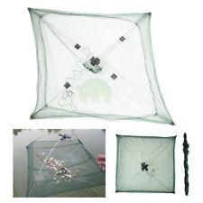 4x 60cm Folding Crab Fish Minnow Crawdad Shrimp Bait Fishing Trap Cast Net Dip U