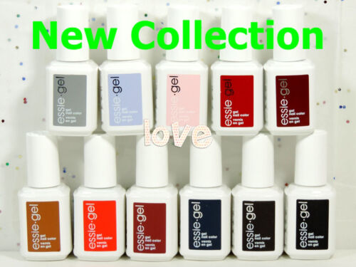 ESSIE Gel Color Soak Off UVLED 12.5ml0.42oz Gel Polish NEW COLLECTION Choose